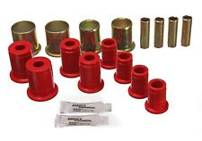 Energy Suspension Control Arm Bushing Set Red Front for 94-04 Sonoma # 3.3119R