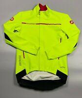 Castelli Rossocorsa men's gore windstopper jacket XL