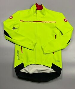 Castelli Rossocorsa men's gore windstopper jacket XL