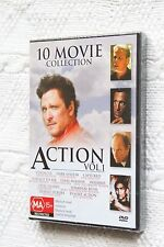 10 Movie Collection (Action), Vol. 1 (DVD) R-All, New , free post Australia-wide