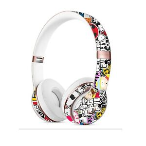 STICKERBOMB Skin for BEATS SOLO PRO STUDIO 2 3 Wireless Cover Decal Bombing Wrap