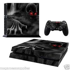PS4 Playstation 4 Death Grim Reaper Console Skin Decal Sticker 3M ULTRA QUALITY