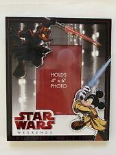 Star Wars Weekends 2012 Jedi Mickey Mouse Picture Frame Walt Disney World