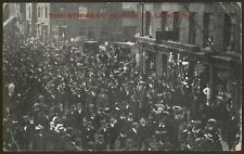 Northampton Army Boot Makers Strikers March to London - 1905 Real Photo Postcard