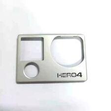 Original For Gopro Hero 4 Silver Front Panel Cover Camera Repair Parts