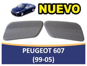 Stopper cap sprayer headlight right peugeot 607 (1999-2005) 6438 f6 new