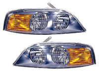 For 2000 2001 2002 Lincoln Ls Headlights Pair Set