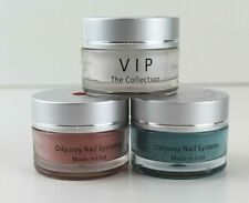 Odyssey Nail Systems Acrylic Powder Dipping Used Lot Of 3 Autumn Free Shipping