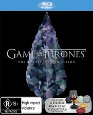 Game of Thrones Season 5 Blu-ray 6 House Wax Seal Coasters .