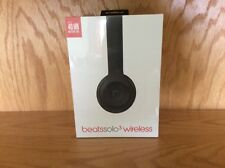NEW Beats by Dr. Dre Solo3 Wireless Over the Ear Headphones - Matte Black