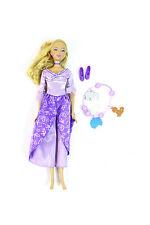 tolle BARBIE Prinzessin der Tierinsel Spielpuppe MATTEL Puppe Lila Kleid L1147