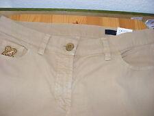 ORWELL Gr 40 Damen Hose beige five pokets Modell Nomega 97 % Baumwolle