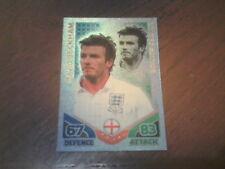 Topps MATCH ATTAX World Cup 2010 - DAVID BECKHAM Limited Edition Foil Card.