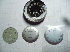 VINTAGES WATCHES DIALS LOT JAEGER LECOULTRE GALA X 2 & ULYSSE NARDIN AS IS