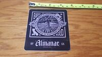 ALMANAC Brewing Co. Sticker ~NEW! Craft Beer Brew Brewery Logo Decal~ Ale