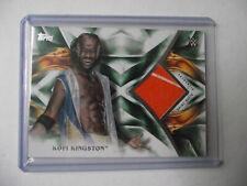 2019 Topps WWE Undisputed - Kofi Kingston Shirt Relic Card 44/50