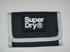 BNWOT - SUPERDRY Trifold Coin Key Ring Wallet - Navy Blue