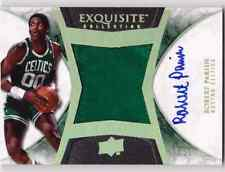 2008-09 Exquisite ROBERT PARISH Auto Patch Limited Logos #d 25 CELTICS