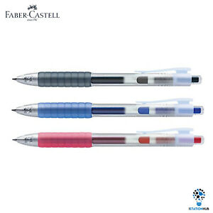 Faber Castell Air Gel Pen   Fast Dry Ink 0.7mm   Quick Drying   Left Right Hand