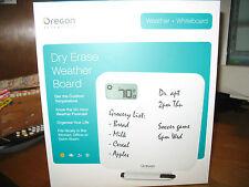 NIB Oregon Scientific Dry Erase Weather Board