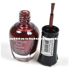1 Kleancolor Nail Polish Lacquer #59 Dark Cherry Manicure