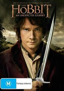 THE HOBBIT An Unexpected Journey (DVD, 2013) - BRAND NEW & SEALED!!!