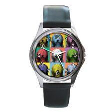BEARDED COLLIE Watch - Bearded Collie Dog Pop-Art Wristwatch