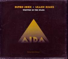 ELTON JOHN Written In The Stars EURO PRO CD-S DISNEY