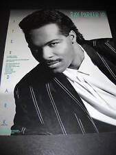Ray Parker Jr. 1987 Photo Promo Poster Ad After Dark