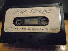 VERY RARE Layne Freedle DEMO CASSETTE TAPE punk rock UNRELEASED lonesome Seattle