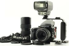 【MINT】MAMIYA 645 Pro TL + N Lens + 120 Back + Mets' strobe, adapter from Japan