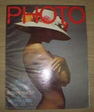 MAGAZINE PHOTO n°43 AVRIL 1971 JACQUES HENRI LARTIGUE ERNST HAAS