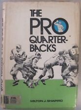 THE PRO QUARTERBACKS 1971 HARD COVER BOOK BART STARR JOE NAMATH LEN DAWSON
