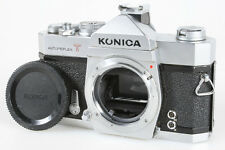 KONICA AUTOREFLEX T FILM SLR BODY WITH BODY CAP AND FLASH SHOE