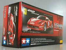 Tamiya 58560 1/10 RC TT-02 Chassis Car Kit Ferrari 458 Italia Challenge w/ESC
