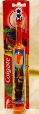 Colgate Kids Battery Powered Toothbrush, Teenage Mutant Ninja Turtles Orange
