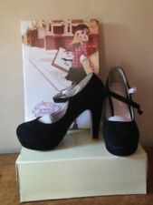 Unbranded Suede Slim Court Heels for Women