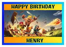 Birthday card, Clash of Clans 16th 18th 21st 30th 40th 50th 60th 70th 80th