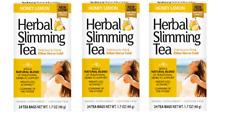 21st Century Herbal Slimming Tea Honey Lemon 24 Bags Pack of 3 (72 bags total)