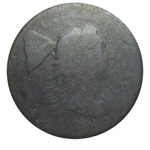 Large cent/penny 1794 head of 1793 low grade Sheldon 18b