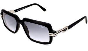 Cazal Sonnenbrille Modell 6008/3, Titanium schwarz-Silber, mit Etui. Gebraucht!
