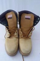Men's Outdoor Exchange Thermolite Combat Boots Ankle High Lace-up Tan Size 13 M