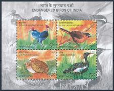 India 2006  birds MNH MS  (f104)