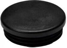Riggatec Endkappe Schwarz für 50 x 2mm Rohr Rund