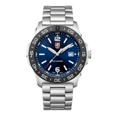 New Luminox Pacific Diver 3120 Stainless Steel Blue Dial Men's Watch XS.3123