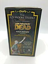 The Walking Dead: HALF ZOMBIE Statue #299 of 1000  Graphic Novel CS Moore Studio
