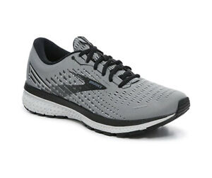 Brooks Ghost 13 Men's running shoes size 9.5M NEW - Color Grey/Black