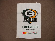 """2008 Green Bay Packers """"G Force"""" Towel – 23″ x 15.5″"""