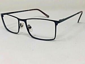 KONISHI FLEX TITANIUM KF7475 C1 Eyeglasses Frame 54-16-140 Black/Burgundy CL87