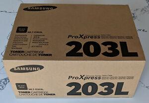 Genuine Samsung MLT-D203L Black High-Yield Toner Cartridge Brand New